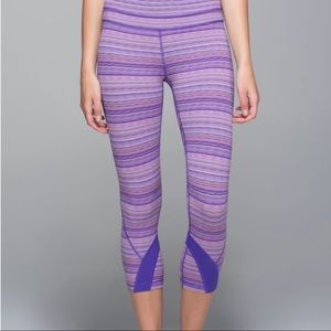 Lululemon Run: Inspire Crop II Space Dye Women's 4